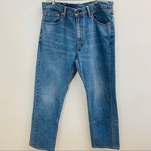 Levi's 505 38/34 Jeans Men Light Wash k53